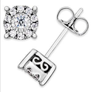 1/3 ct tw diamond earrings